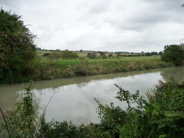 North-west [non towpath] canal bank