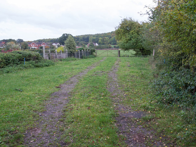 Farm track off Loxley Road