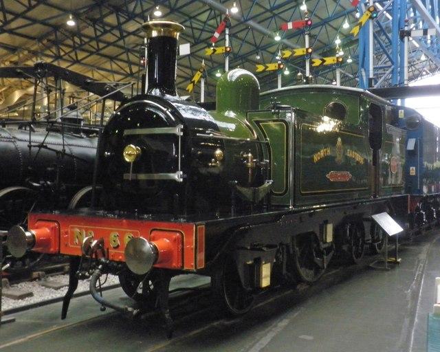 Former NER loco 'Aerolite' at the National Railway Museum, York
