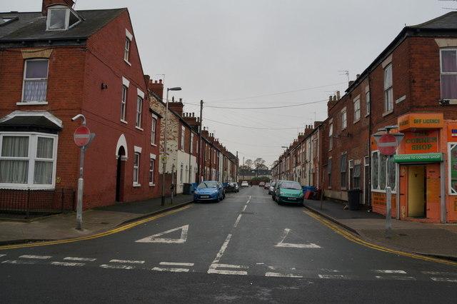 Cee Street off Coltman Street, Hull