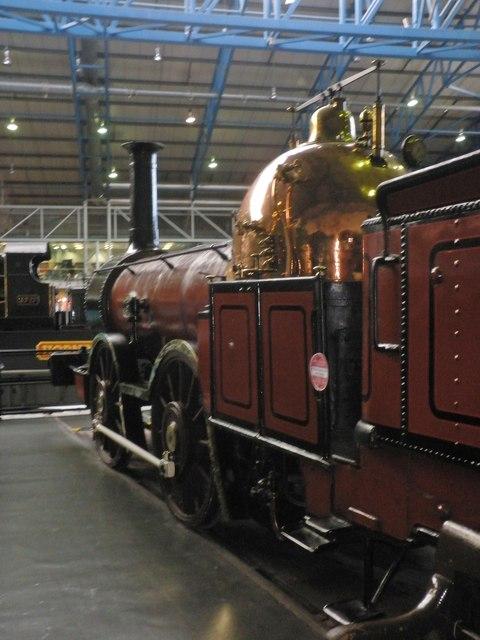 Furness Railway locomotive No.3, at the National Railway Museum, York