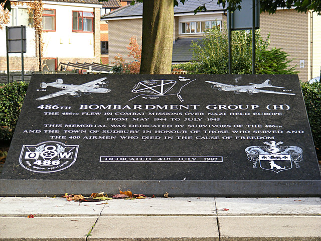 486th Bombardment Group (H) Memorial