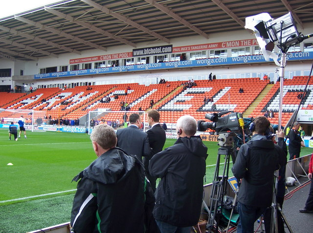 Sky Sports Presenters at Blackpool FC's Bloomfield Road Ground - 2