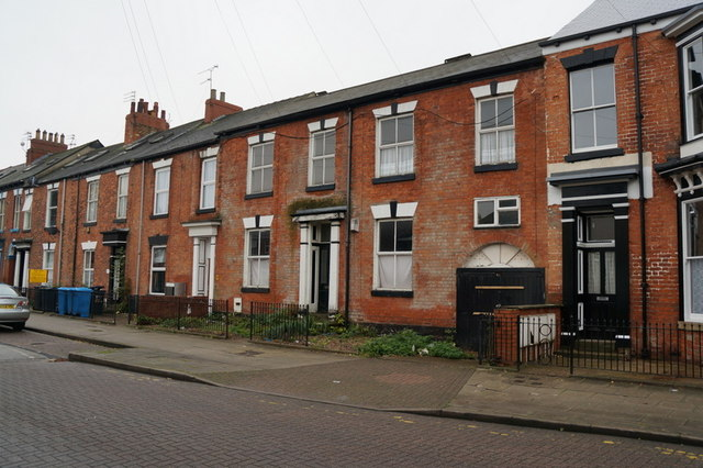 Houses on Coltman Street, Hull
