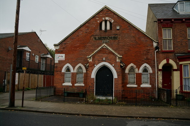 The Holiness Church on Coltman Street, Hull