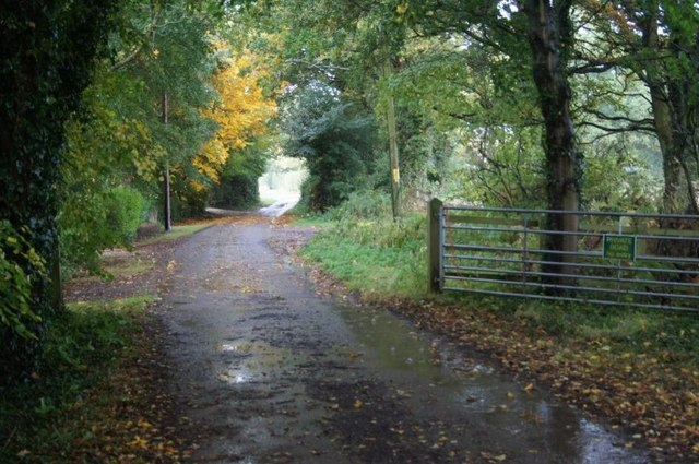 Access road for Scarlett's Farm
