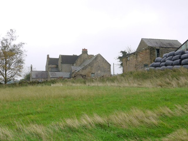 Pontop Hall from the west