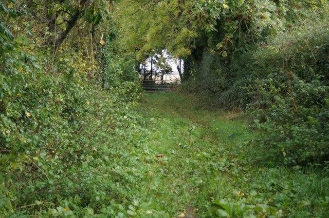 Footpath near Scarlett's Farm