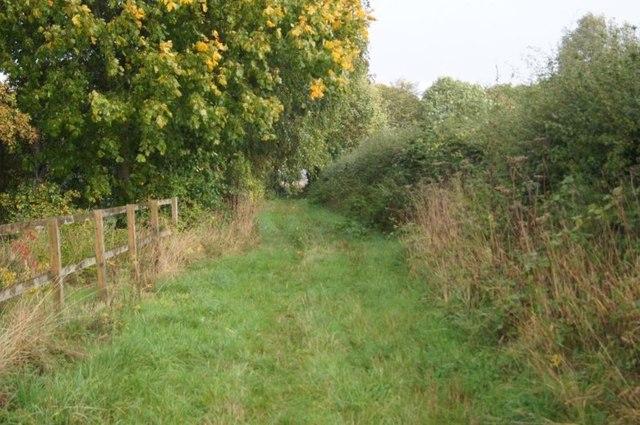 Path approaching Scarlett's Farm