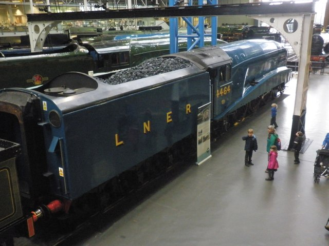 A4 class 'Bittern' at the NRM, York