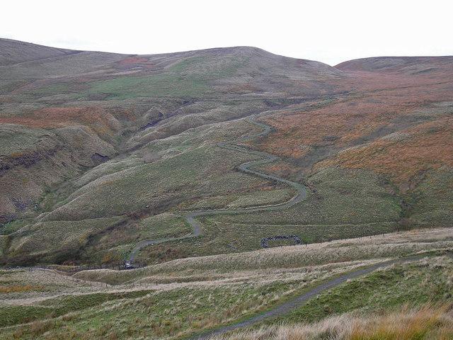 Pennine Bridleway zigzag