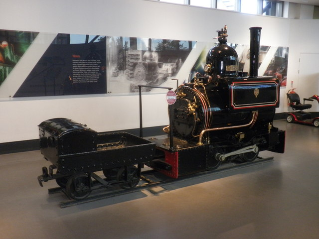 'Wren' on display at the NRM, York