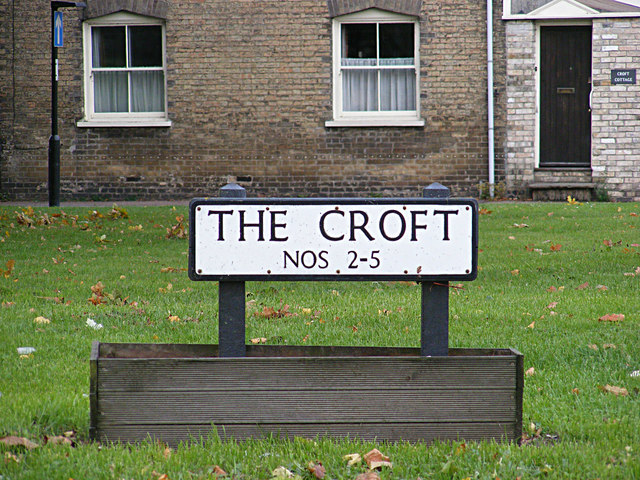 The Croft sign
