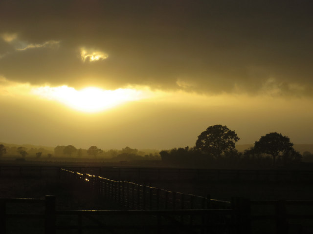 Sundown from Normanby