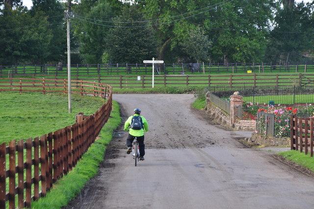 Bradfield : High Farm Cross