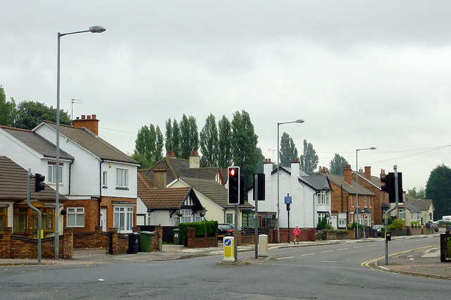 Bilston Lane in Willenhall, Walsall
