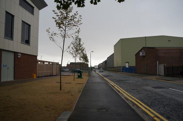 Walcott Street off Hessle Road, Hull