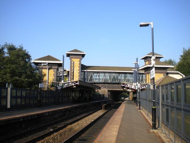 High level platforms, Smethwick Galton Bridge station