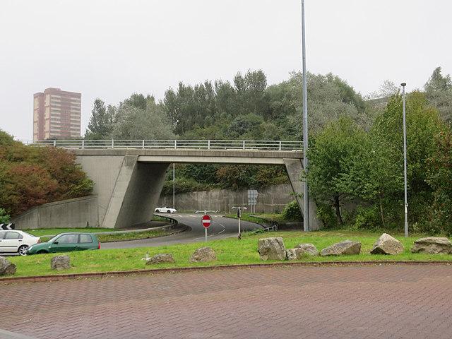 Access to the Redheugh Bridge