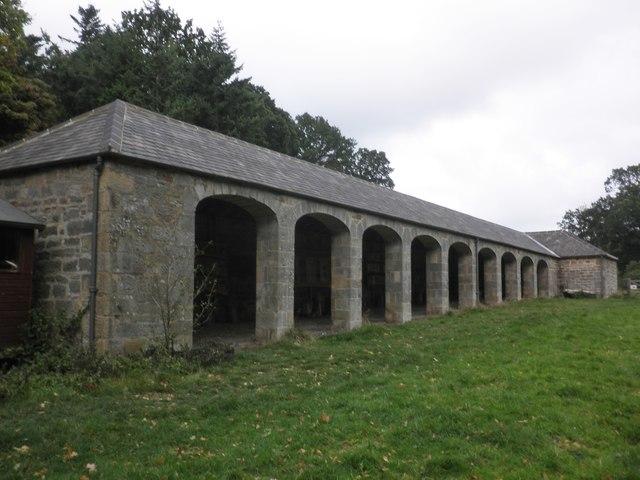 Estate building, Chillingham Park
