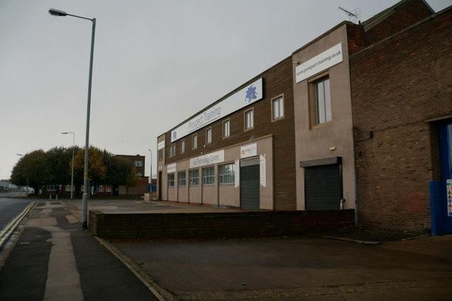 Prospect Training on Goulton Street, Hull