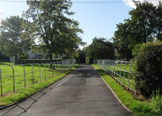 Farm entrance, Turleygreen, Shropshire