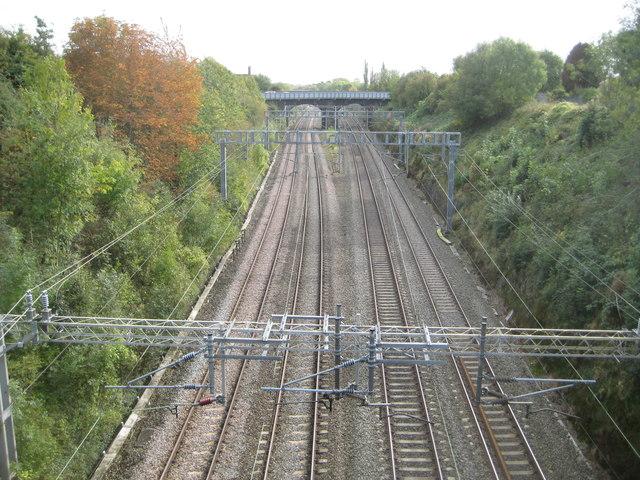 West Coast Main Line: Roade Cutting (2)