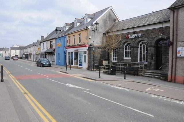 St John's St, Whitland