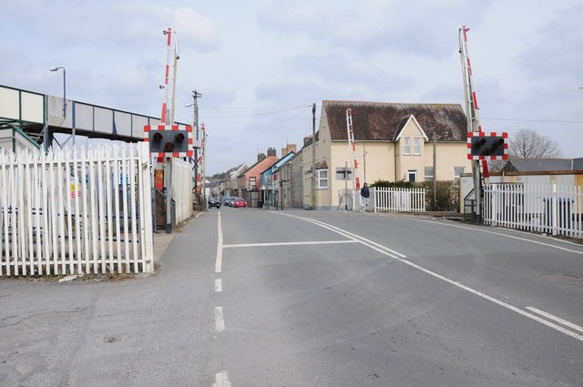 Level crossing in Whitland