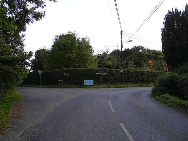 Joes Road junction