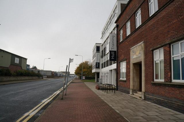 Hull Training on Goulton Street, Hull