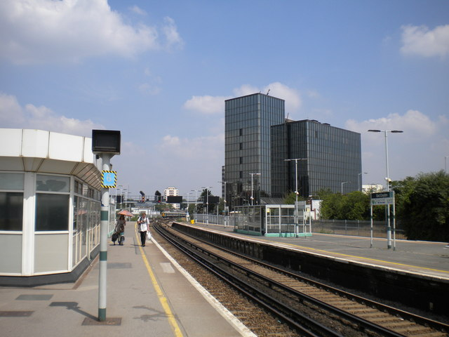 North end of East Croydon station