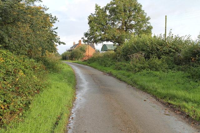 Muse Lane towards Muselane Farm