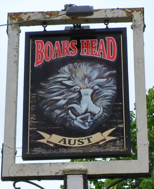 Boars Head name sign, Aust