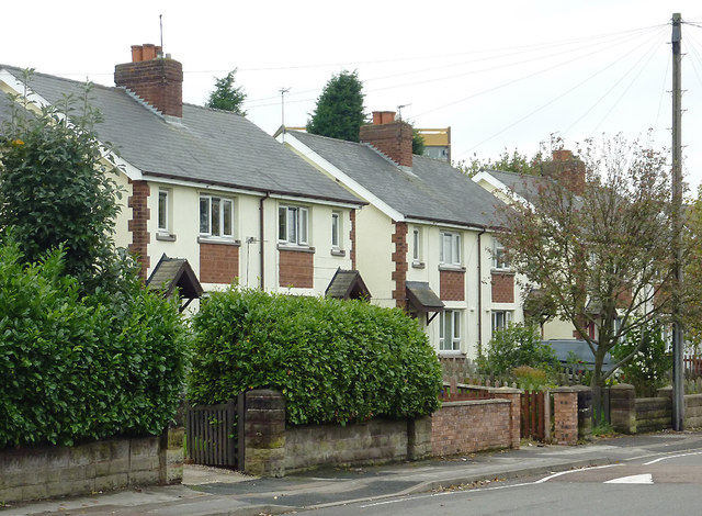 Housing in William Harper Road in Willenhall, Walsall
