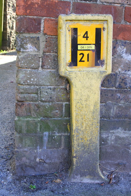 Benchmark on #56 High Street Fordington