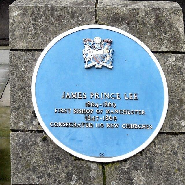 Blue plaque: James Prince Lee