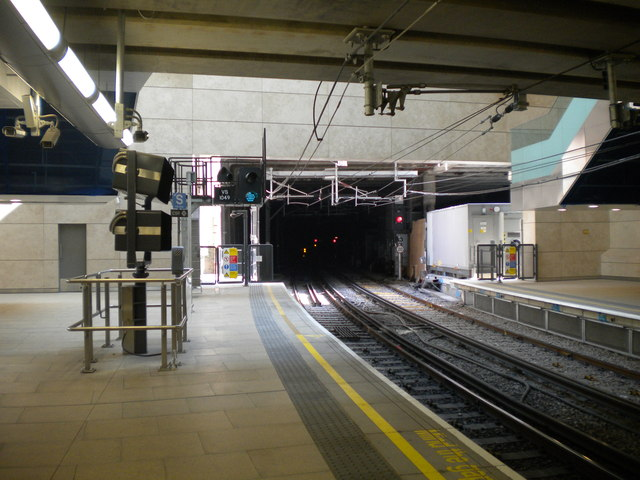 South end of Farringdon station