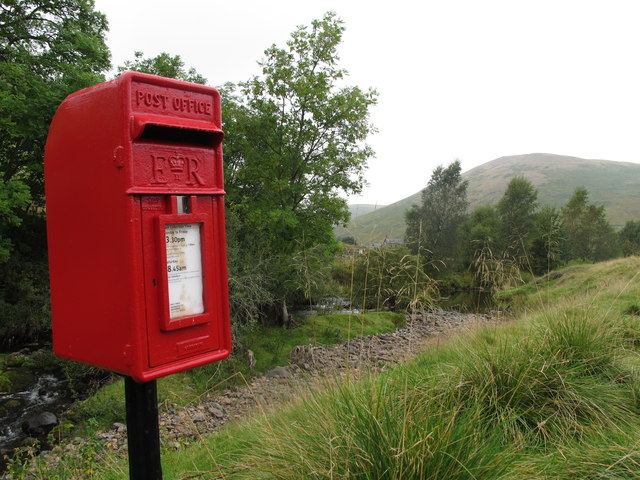 Post Box near Barrowburn Farm