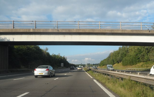 Bridge over the M5 at Foxwalks Farm