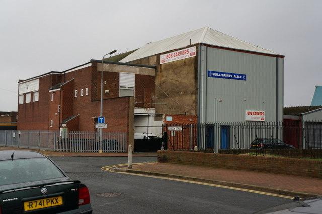 Hull Saints Boxing Club, West Dock Avenue, Hull