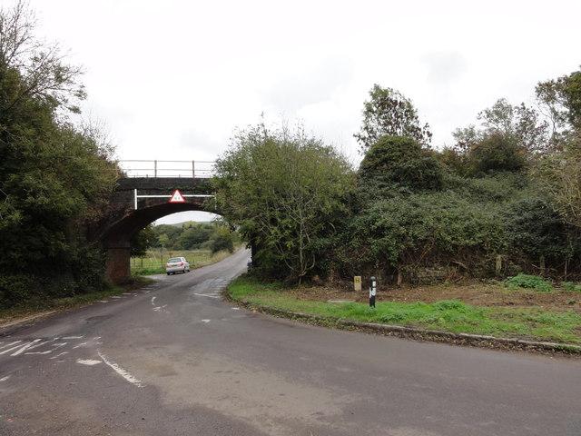 Old Somerset & Dorset Railway Bridge