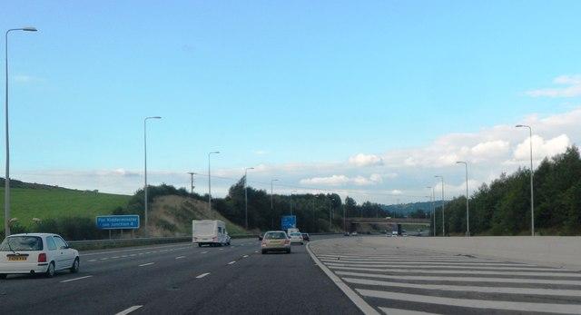 M5 Northbound