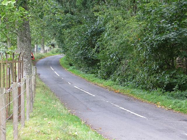 Road to Glenfarg