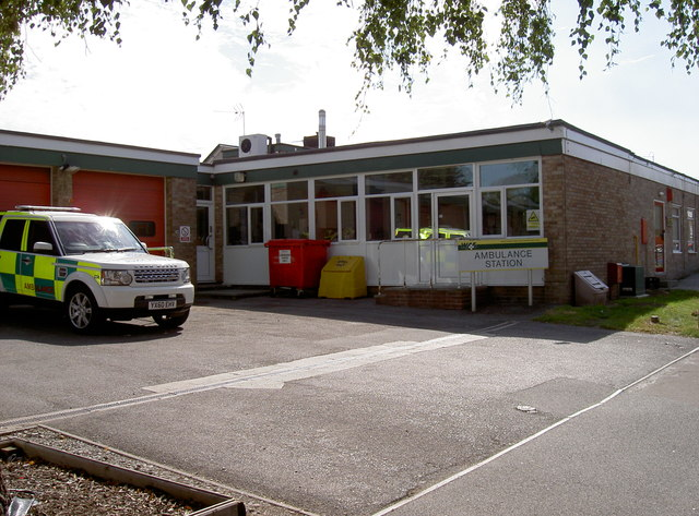 Bridgwater ambulance station