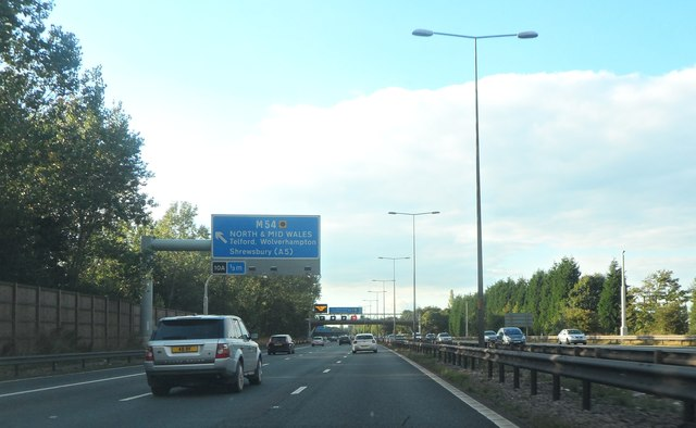 Approaching Junction 10A