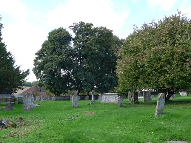 St John the Evangelist, West Meon: churchyard (a)