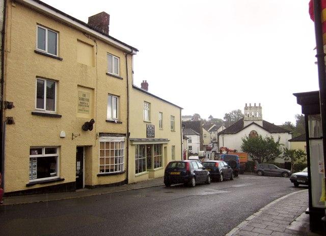 Hatherleigh town centre