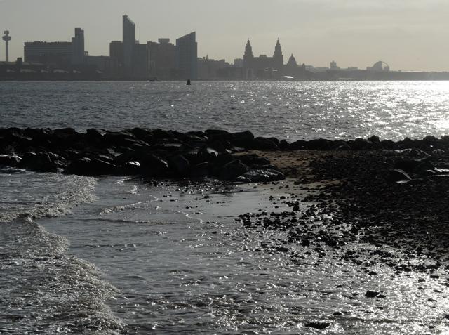 Breakwater on the Mersey