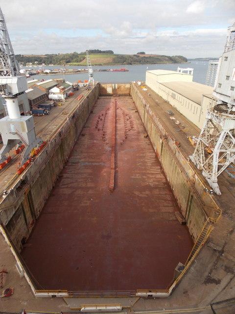 Falmouth: Queen Elizabeth Dock